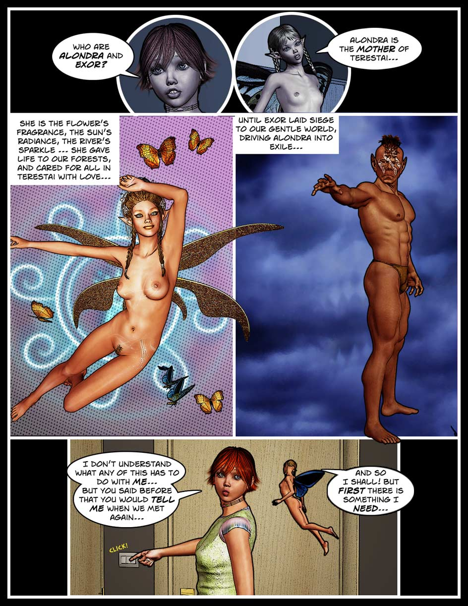 Nikki Webcomic Page 92 – Alondra And Exor