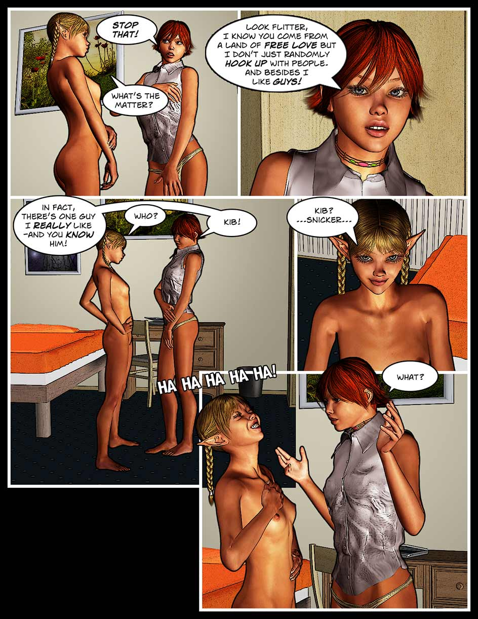 Nikki Webcomic Page 124 – Big Laugh