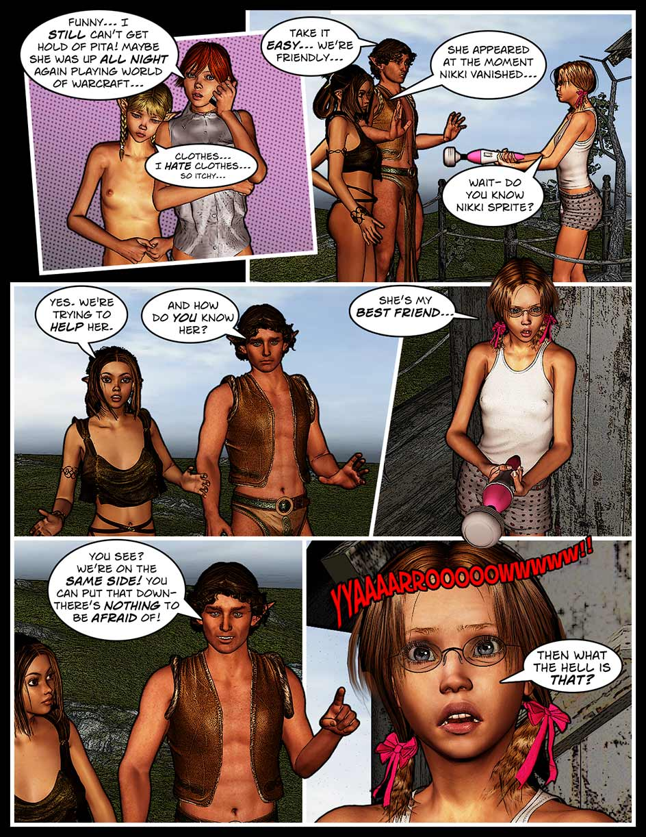 Nikki Webcomic Page 126 – Meanwhile…