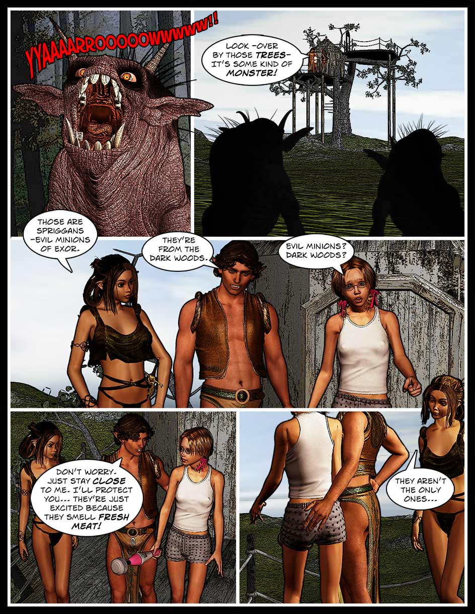 Nikki Webcomic Page 127 – Fresh Meat