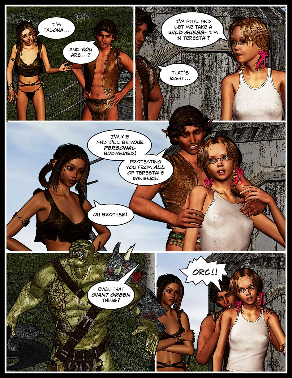 Nikki Webcomic Page 128 – Bodyguard