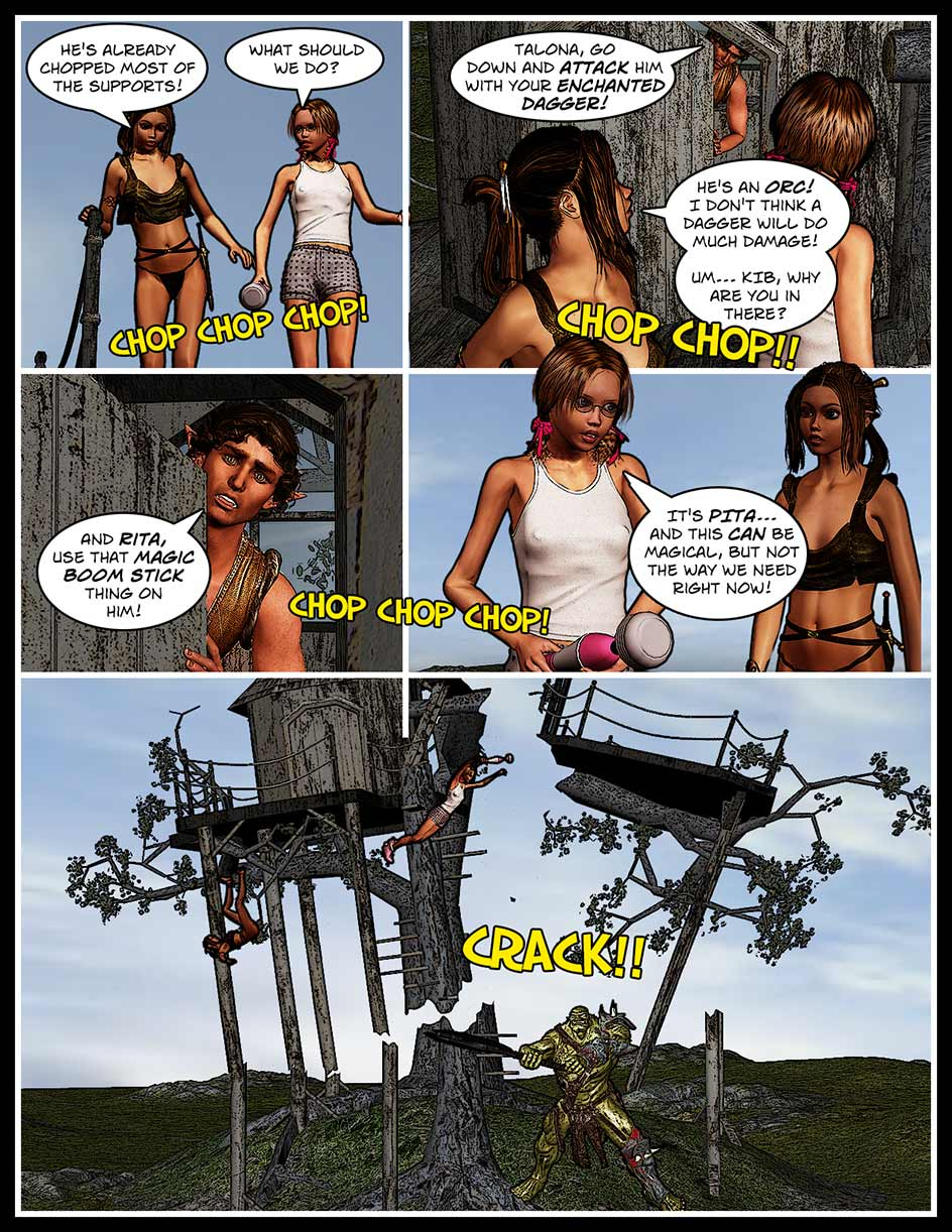 Nikki Webcomic Page 130 – CRACK