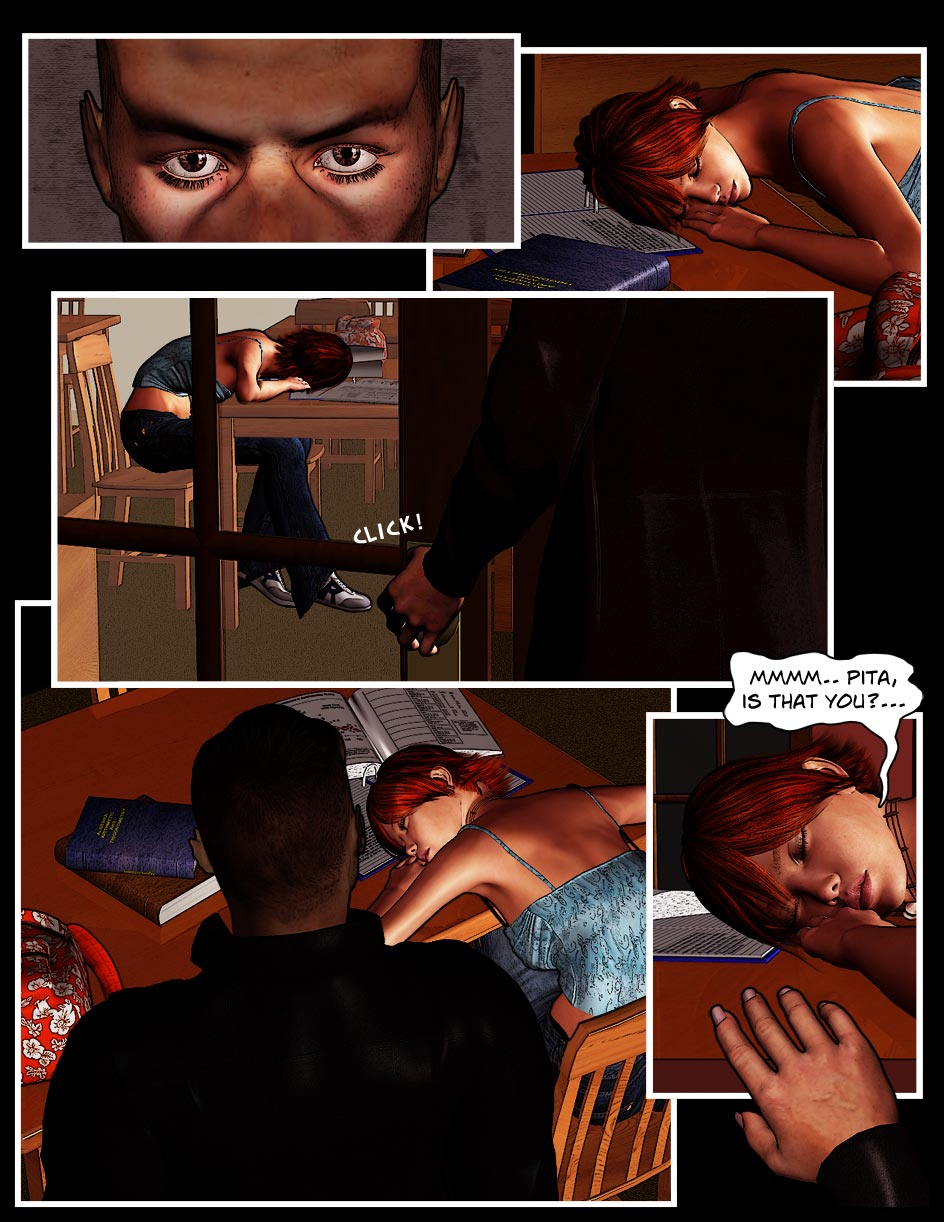 Nikki Page 13 – Being Watched