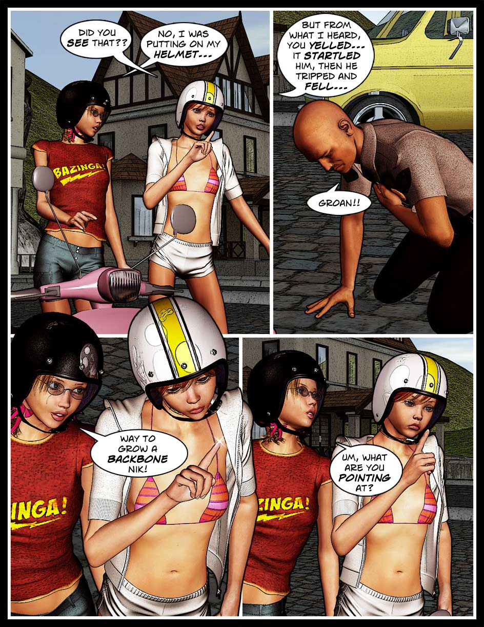Nikki Webcomic Page 49 – Pointing