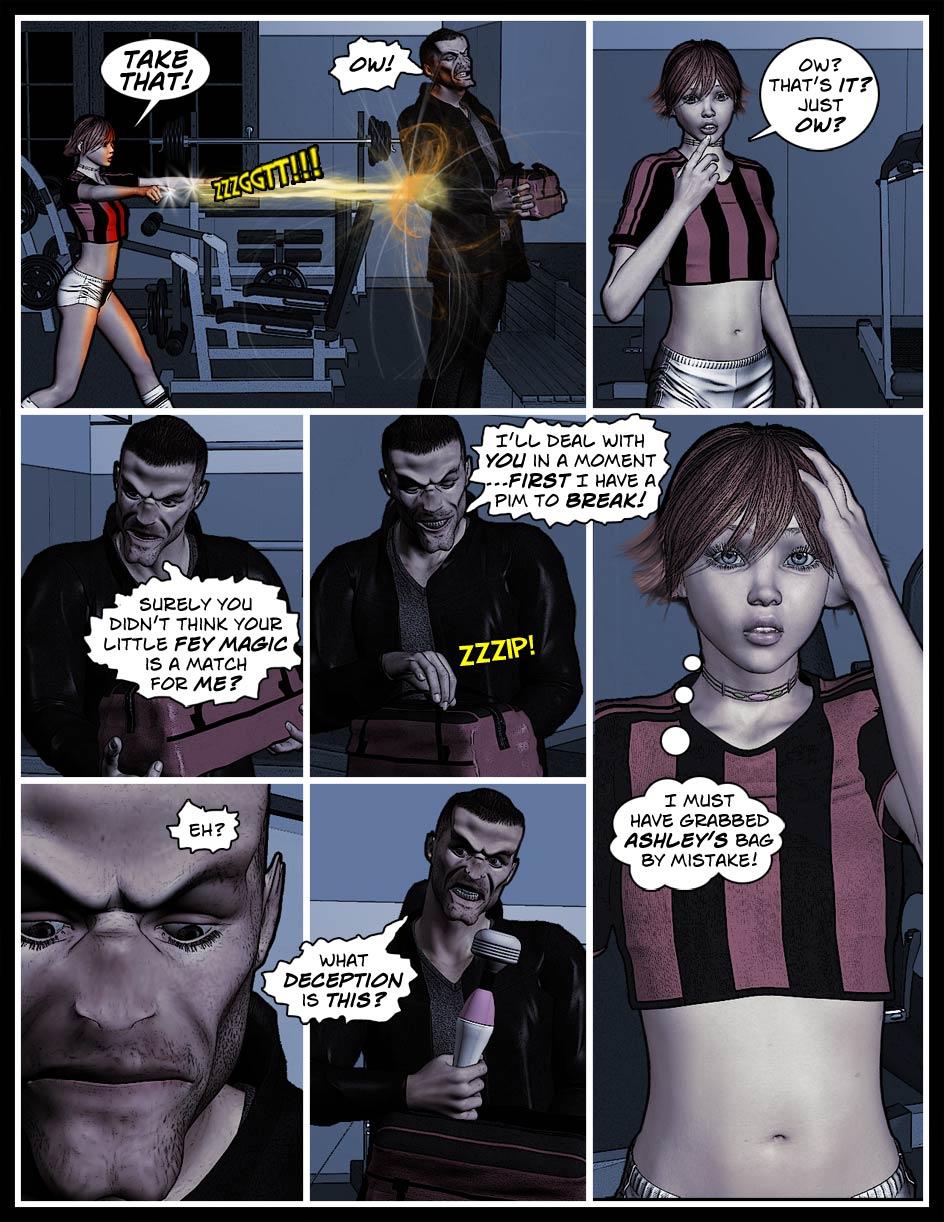 Nikki Webcomic Page 66 – Wrong Bag