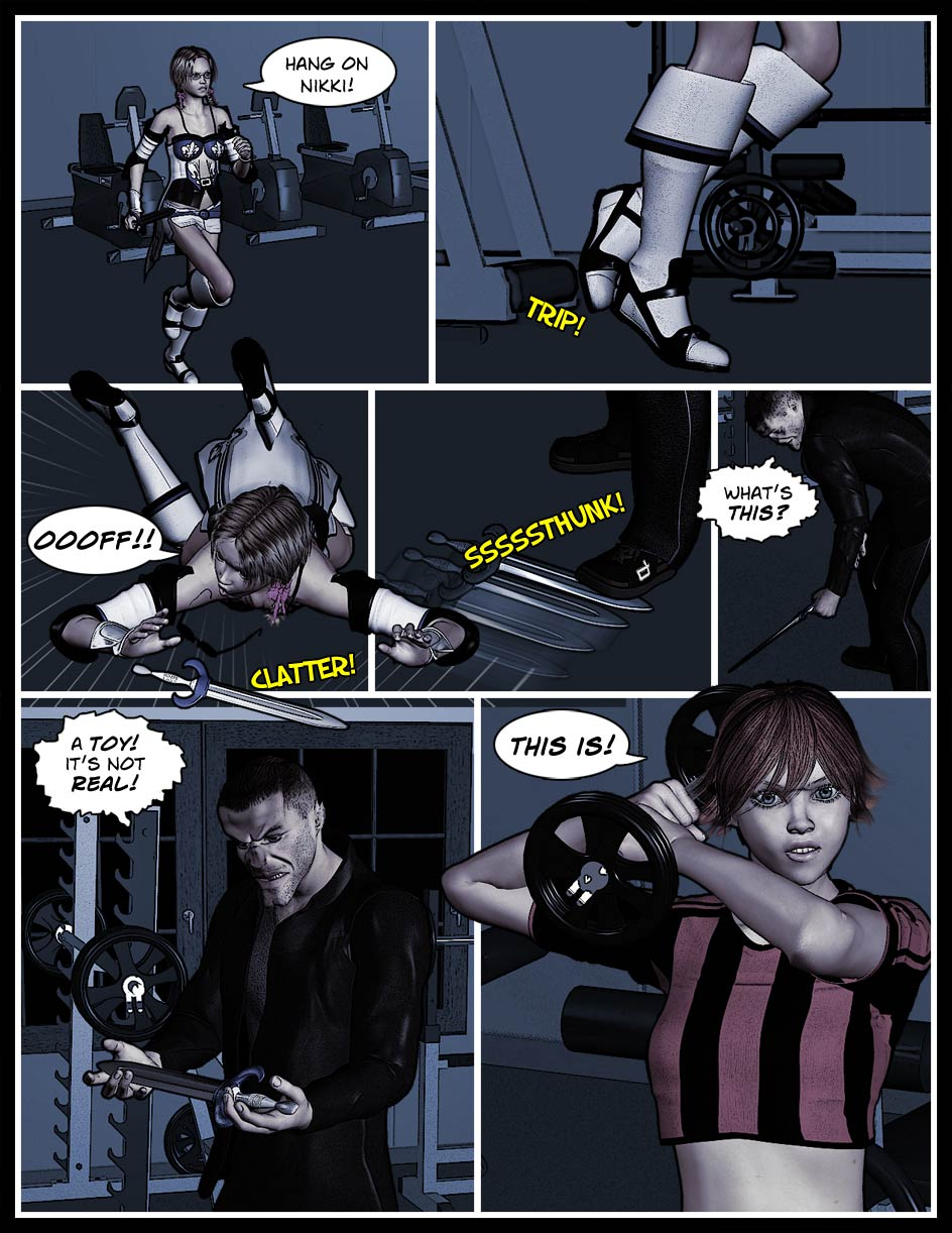 Nikki Webcomic Page 68 – Real Or Not?