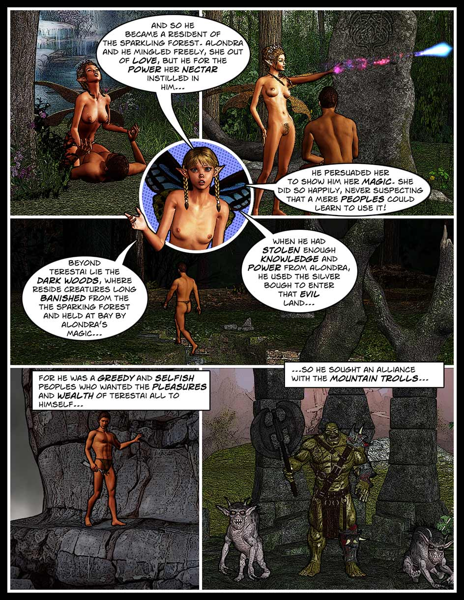 Nikki Webcomic Page 104 – Mingling For Profit