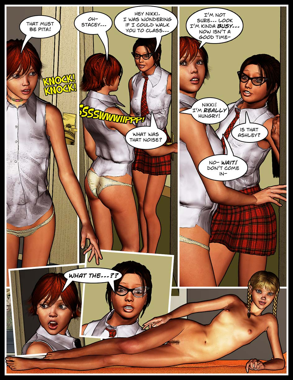 Nikki Webcomic Page 119 – A Big Surprise