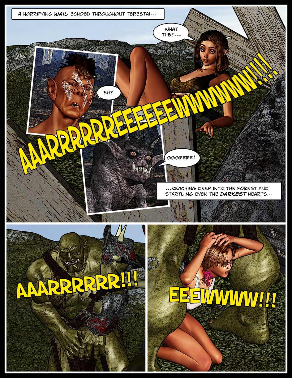 Nikki Webcomic Page 134 – Wailing