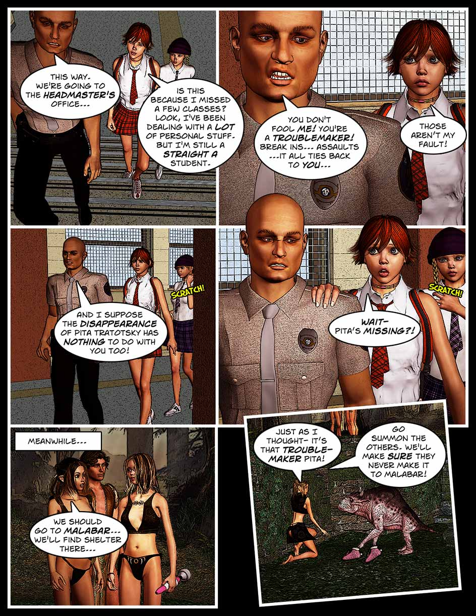 Nikki Webcomic Page 146 – Troublemakers
