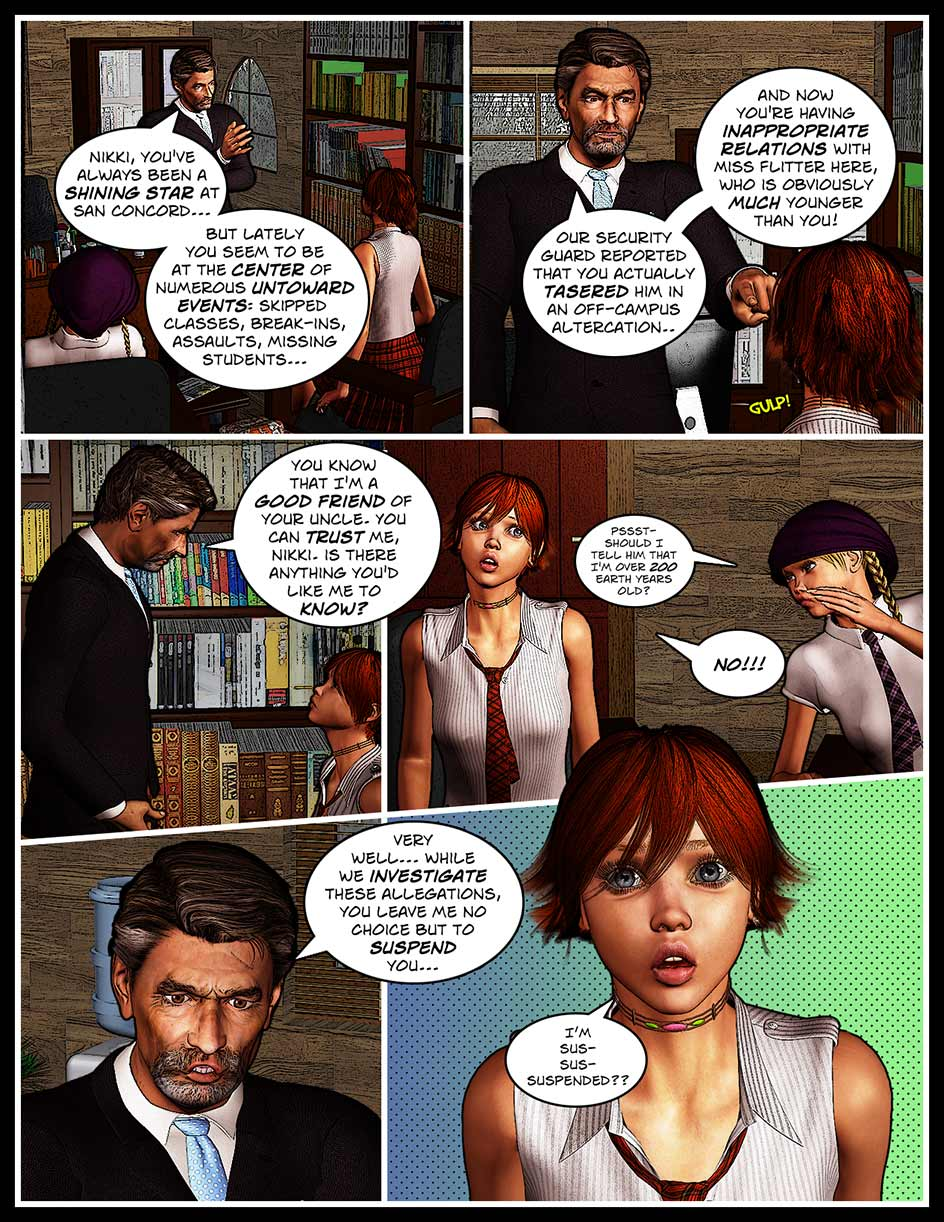 Nikki Webcomic Page 149 – Sentenced