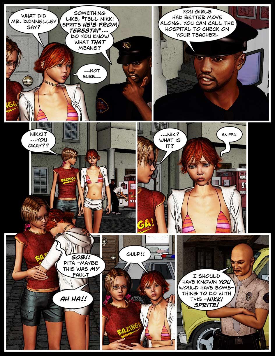 Nikki Webcomic Page 47 – Fault