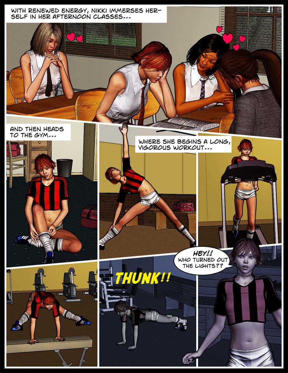 Nikki Webcomic Page 60 – Workout