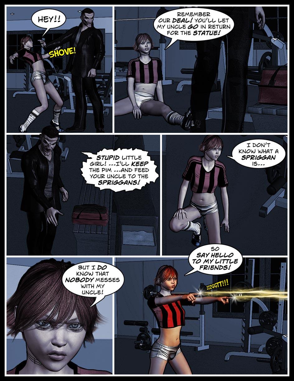 Nikki Webcomic Page 65 – Little Friends