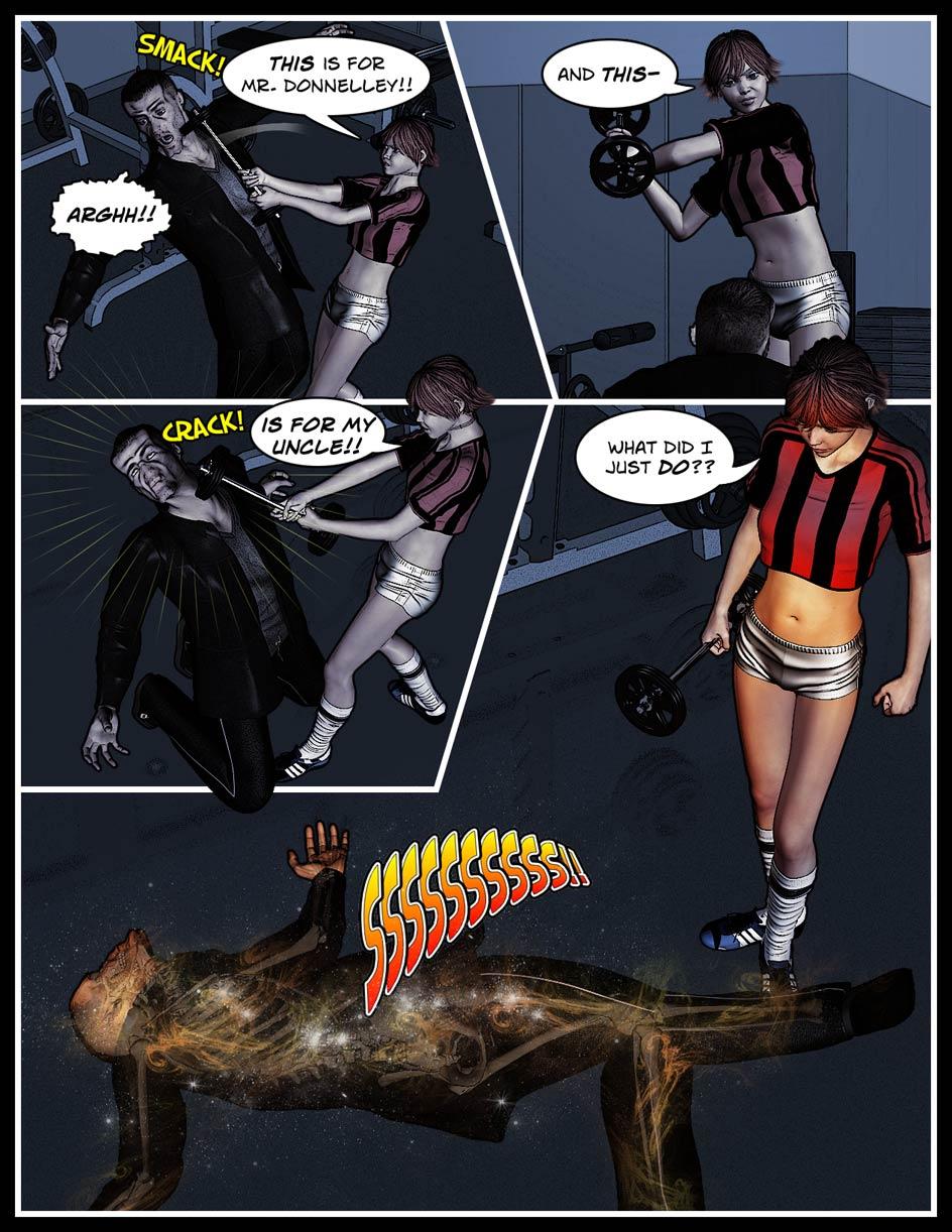 Nikki Webcomic Page 69 – Smack Down
