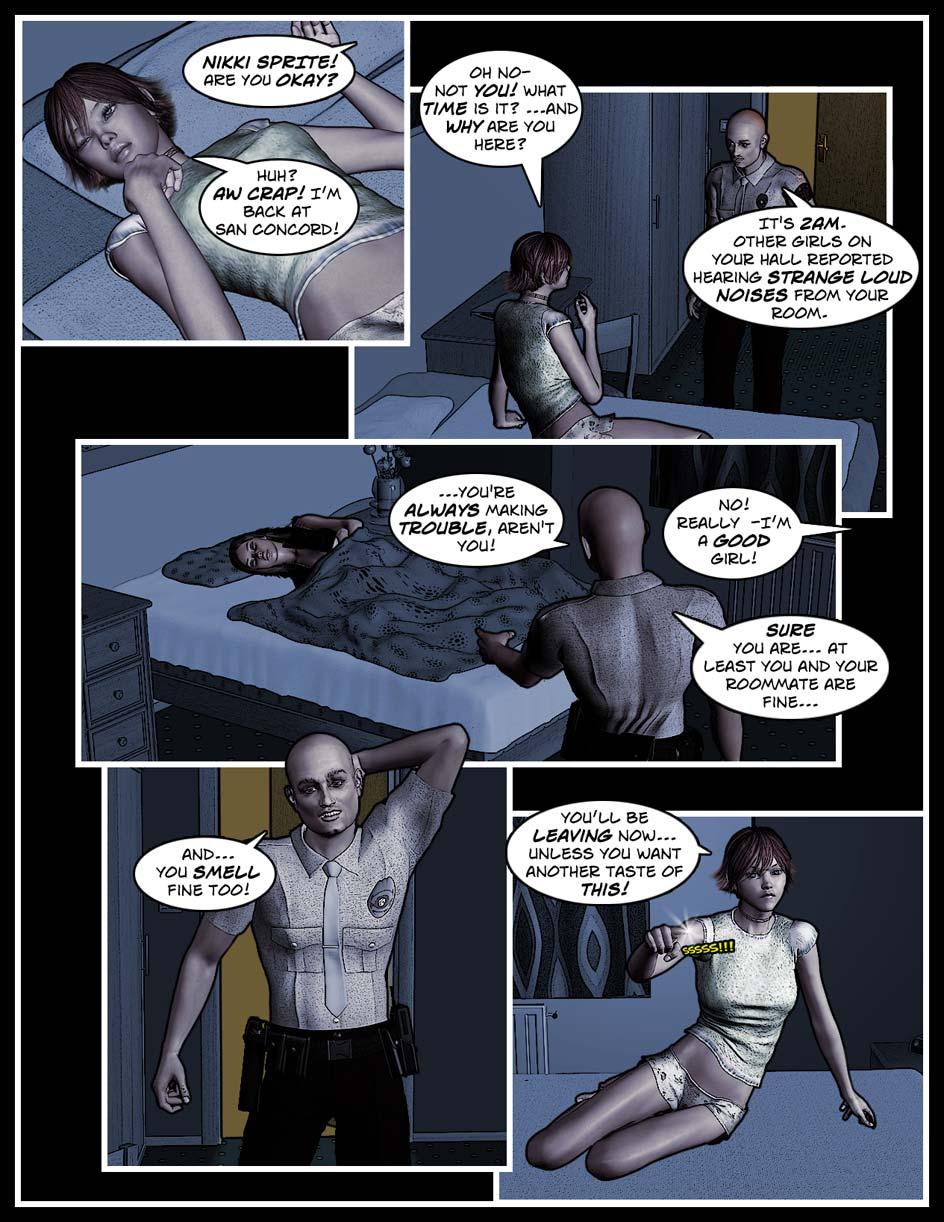 Nikki Webcomic Page 85 – All Fine?