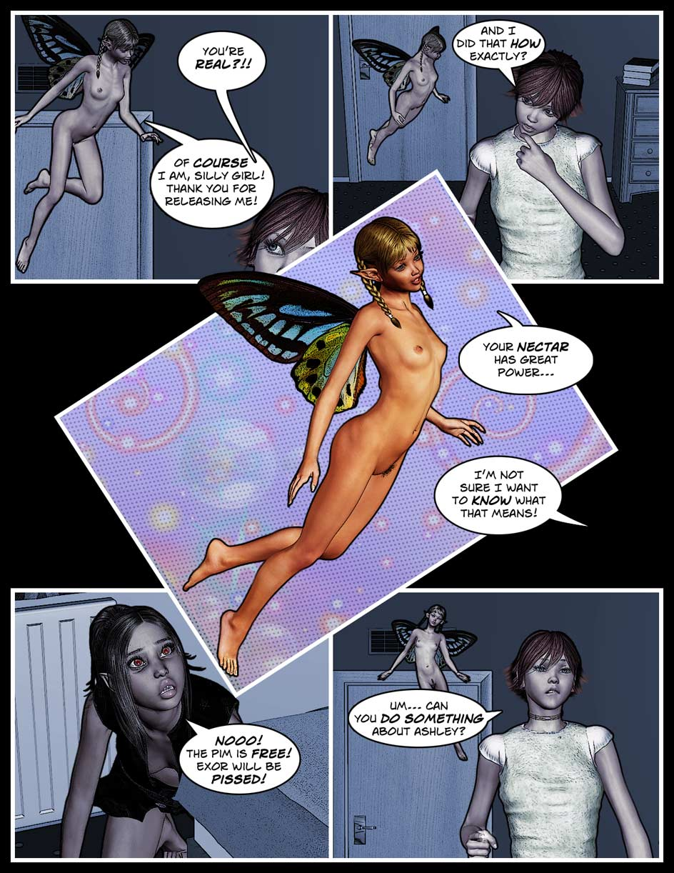 Nikki Webcomic Page 90 – Nectar