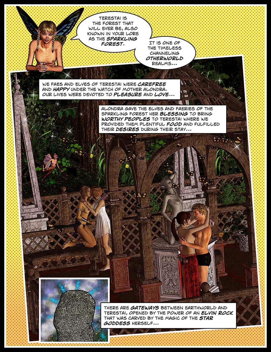 Nikki Webcomic Page 101 -Terestai Intro