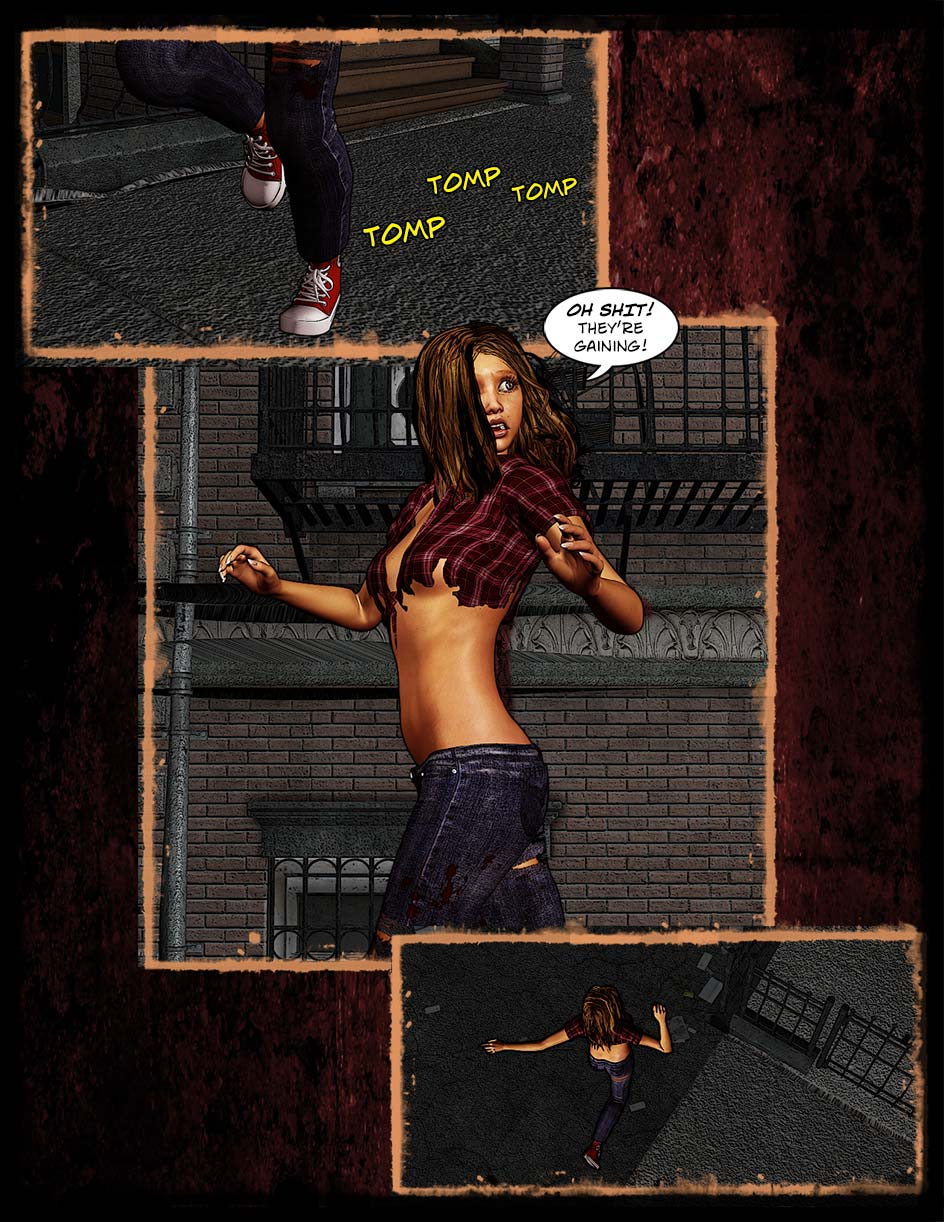 Zoey and the Zombies Page 1