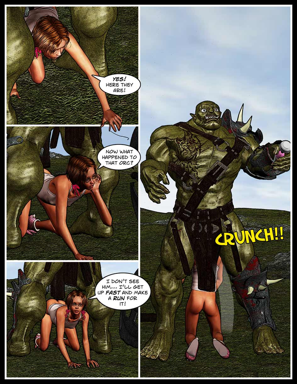 Nikki Webcomic Page 133 – Run For It