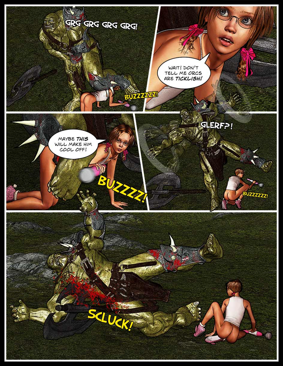 Nikki Webcomic Page 136 – Buzz Kill