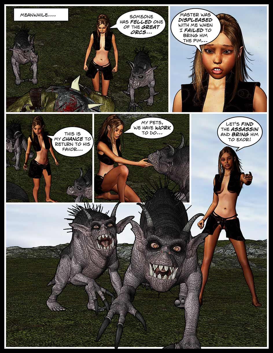Nikki Webcomic Page 141 – Mission