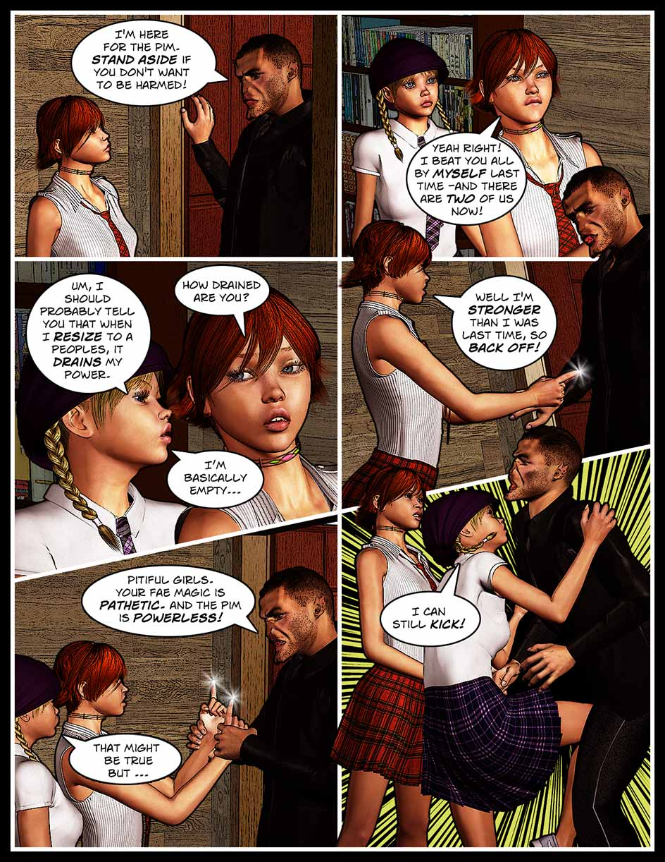Nikki Sprite Webcomic Page 154 – Not Totally Powerless