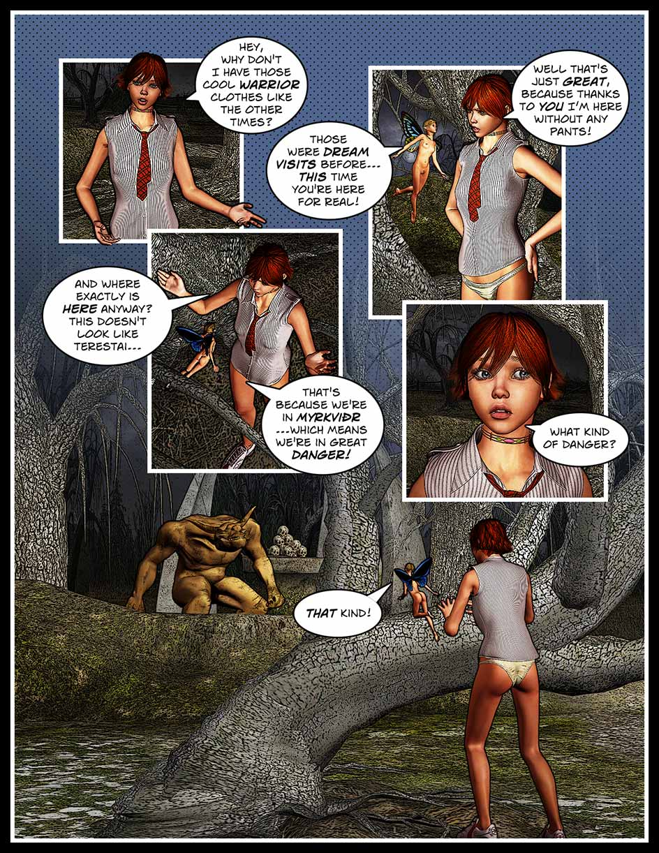 Nikki Sprite Webcomic Page 167 – Dangerous Place